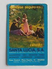 CALENDARIO SANTA LUCIA SEGUROS. AÑO 1976.(Ver descripción estado)