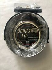 NWT Midwest Stainless Steel Snap'y Fit Water and Feed Bowl 8 FL.