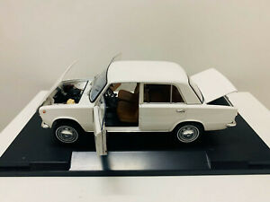 Triple 9 Lada Fiat 1971 Murat 124 White By IST 1/18 Scale DieCast Model Car