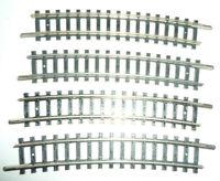 MINITRIX N     - 14917 4917 gebogenes Gleis R3 15° / 4 Stück -         X498X