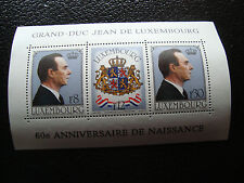 LUXEMBOURG - timbre yvert et tellier bloc n° 13 n** (Z9) stamp (A)