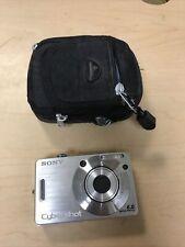 Sony Cyber-shot DSC-W50 6.0 MP Digital Camera - Silver