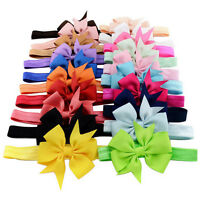10Pcs Baby Infant Toddler Kids Girls Fishtail Bowknot Headwear Hair Accessories