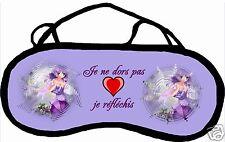 Masque de sommeil cache yeux anti lumière MEDITATION 1 personnalisable REF 04