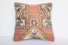 Sofa Pillow,Vintage pillow,Oushak pillow,Rug pillow,Carpet pillow,16x16 Pillows
