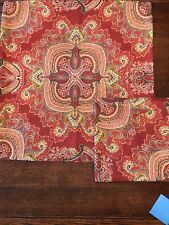 Pair Of Pottery Barn Ainsley Paisley Pillow Cover 24x24 MINT