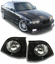 BLACK / SMOKED INDICATORS FOR BMW E36 3 SERIES COUPE CONVERTIBLE CABRIOLET