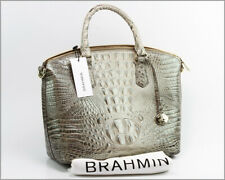 Authentic BRAHMIN - Duxbury Leather Satchel Hemlock Melbourne - K43 151 00466