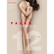 Falke Women's Shelina 12 Denier 10 Den Hold-up Stockings Beige Powder Large