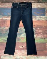 """LIVERPOOL Women's """"Isabell"""" Skinny Bootcut Stretch Jeans Size 6/28 Medium Wash"""