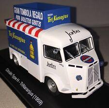 Salvat TEST KIOSCO Vehiculos Reparto Nº2 CITROEN TYPE H TRINARANJUS 1959 1:43