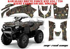 AMR Racing DECORO GRAPHIC KIT ATV Kawasaki KVF 650 & 750 AMR Real Camo B