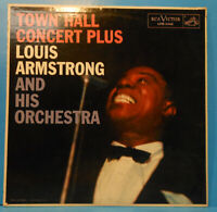 LOUIS ARMSTRONG TOWN HALL CONCERT PLUS LP 1957 MONO GREAT CONDITION! VG++/VG+!!