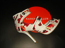 BNIB - SOLD OUT - Karen millen Signature floral print Sandals shoes 38.5