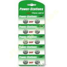 100 Pila de botón Baterías A76 Ag13 Lr44 357 Sr44 Gpa76