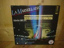 """MARTHE BRUNA la marseillaise 12"""" MAXI 45T"""