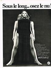 PUBLICITE advertising  1970   MITOUFLE bas & collants  OSEZ LE NU