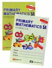 Singapore Primary Math 5A textbook + 5A workbook Us Edition - Free Shipping