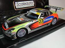 Scaleauto Mercedes SLS AMG GT3 Jarama 2011 #23 1:24 für Autorennbahn Slotcar