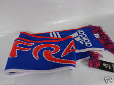 FRANCE OFFICIAL EURO 2012 SCARF BY ADIDAS BNWT LES BLEUS