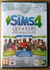 SIMS 4 BUNDLE PACK 11. JUNGLE, FITNESS & TODDLER STUFF ADD-ONS PC/MAC sealed UK