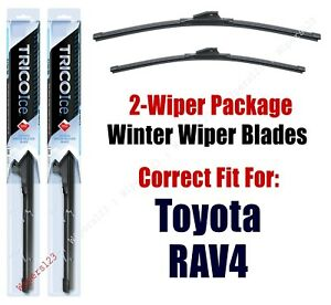 2006-2012 Toyota RAV4 RAV 4 WINTER Wipers 2-Pk Winter Beam Blades - 35240/35170