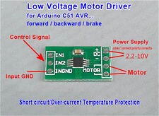 Micro DC Motor 3.3v 5v Driver Board Module Controller Reversible Brake F Arduino
