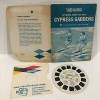 Rare 1958 Vintage Sawyers View Master Highlights of Cypress Gardens 1A961