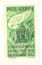 ETABLISSEMENT FRANCAIS DE L'INDE TIMBRES COLONIES FRANCAISES N° PA 19 **
