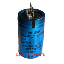 4700uF 16V 85'C Radial Electrolytic Capacitor, PHILIPS, Long Life - 15000 hours
