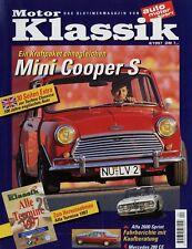 Motor Klassik 4/97 1997 BMW 1600-2 Mini Cooper 1300 Alfa 2600 Sprint Bristol 403