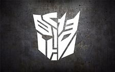 Transformer 5'' vinyl car sticker decal l buy 1 get 1 free