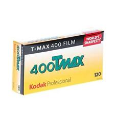 Kodak Professional T-Max 400 Black & White Negative Film (120 Roll Film, 5 Pack)