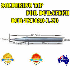 SOLDER SOLDERING IRON STATION Tip for DURATECH 1.2D TS-1620 TS-1622 RHINO 40W OZ