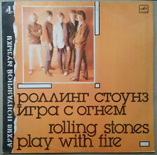 The Rolling Stones - Play with Fire (LP) Russian vinyl made in USSR