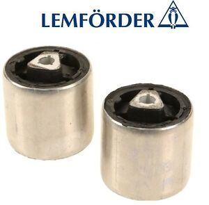 For BMW E60 E64 Pair Set of 2 Front Upper Control Arm Bushing OEM Lemfoerder