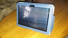 "BRAND NEW Universal blue 10Inch Folio Smart Stand Case Cover for 10"" Tablet PC"