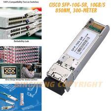 Pour Cisco SFP-10G-SR, 10Gb/s SFP + transceiver module, 10 GBase-SR, MMF, 850 Presque comme neuf, 30 m