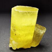 84.1ct LARGE Twinned Vietnamese Golden Beryl var. Heliodor Rough Crystal Gem