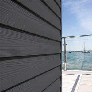 CEDRAL Slate Grey A Fire Rated Textured Finish External Cladding