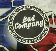 EMBROIDERED BAD COMPANY ROCK BAND PATCH