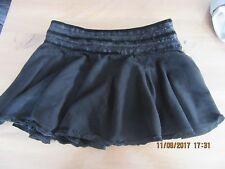 jupe noir courte taille S