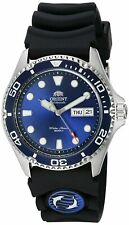 Orient Men's 'Ray II Rubber' Automatic Stainless Steel Diving Watch FAA02008D9