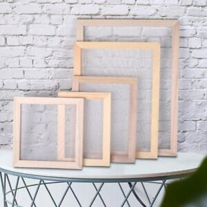 Paper Making Screen Includes Wooden Paper Making Mold Frame for Paper Craft UK
