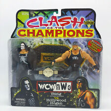 1999 WCW/NWO CLASH OF THE CHAMPIONS 2 PACK STING vs HOLLYWOOD HOGAN NEW