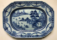 Serving Plate Lobbed Porcelain Qianlong (1736-1795) China Qing dynasty