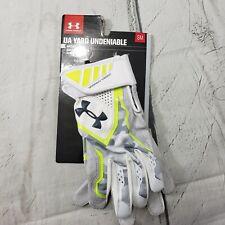 Under Armour Batting Gloves Size Small Mens UA Yard Undeniable heat Gear New NWT