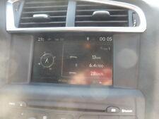 CItroen DS4 C4 new shape sat nav system full kit radio display GPS écran RARE