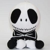 "The Nightmare Before Christmas Jack Skellington Plush Stuffed 8""doll toy Xmas"