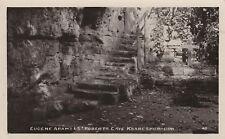 Eugene Adams & St Roberts Cave Knaresborough Real Photo (RP) Unposted Postcard
